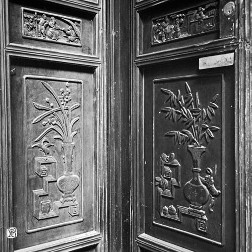 Traditional Chinese Lattice Door