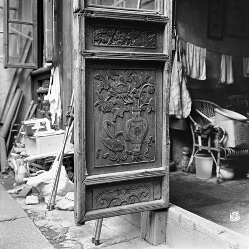 Traditional Chinese Lattice Door